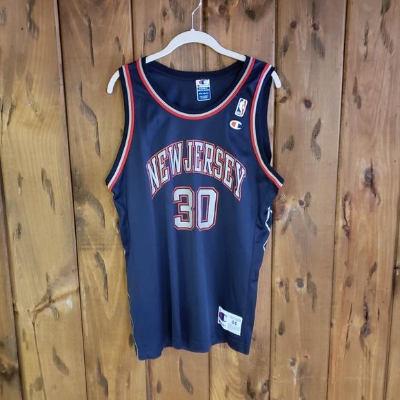 7257a4f0 Vintage Shirts   Nets Jersey Nba Basketball Kittles Champion   Poshmark
